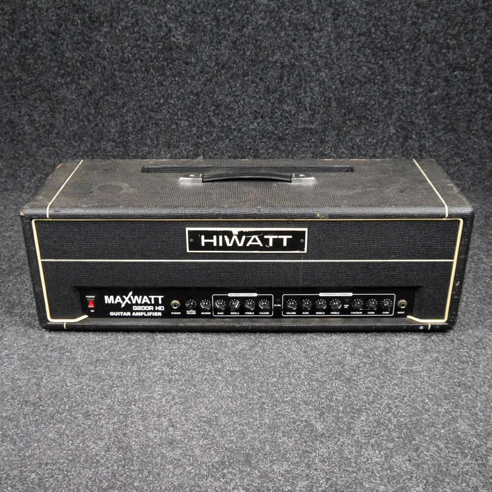 Hiwatt Maxwatt G200R HD Amp Head - 2nd Hand