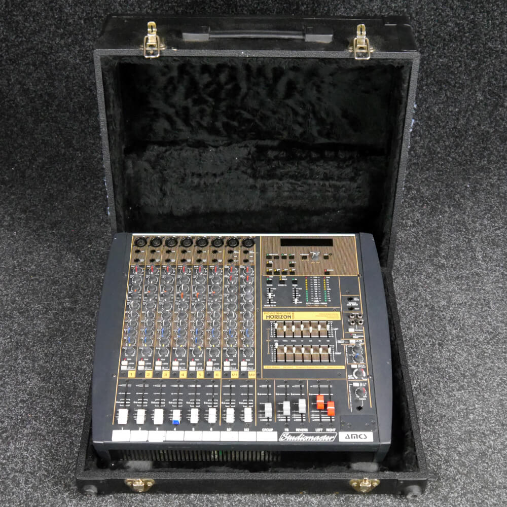 Studiomaster Horizon 1200 Powerd Mixer w/Flight Case - 2nd Hand