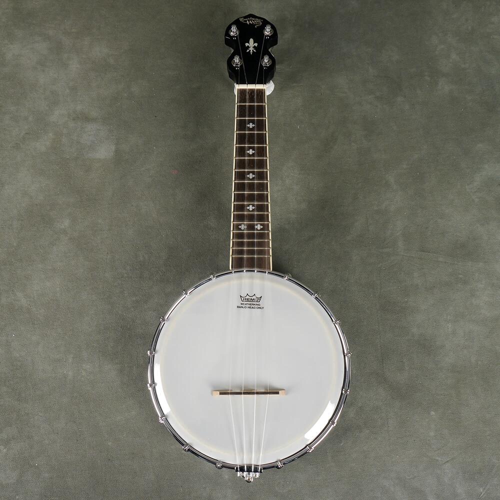 Countryman Dub Soprano Open Back Banjolele - 2nd Hand