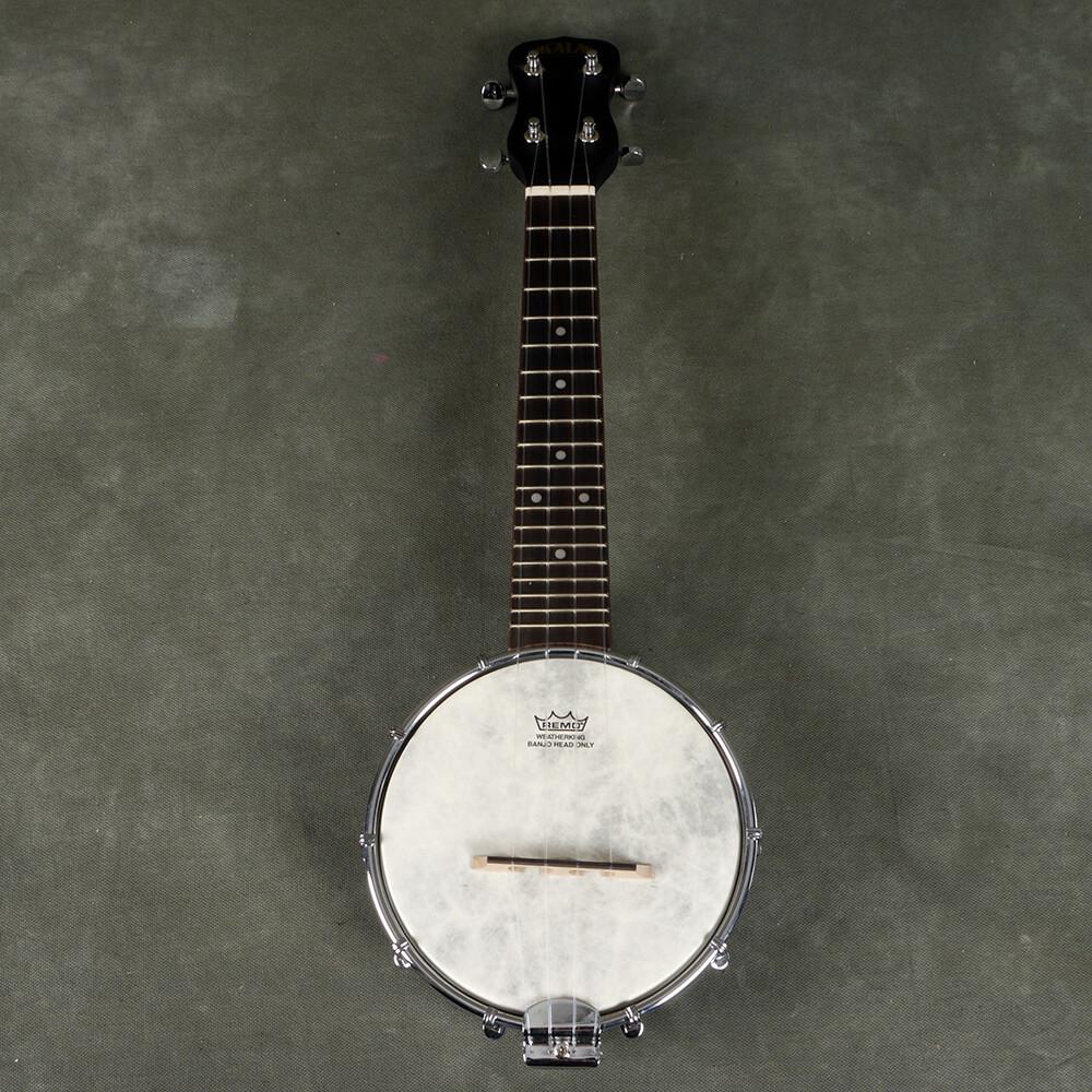Kala KA-BNJ-BK-S 6 Inch Banjolele - 2nd Hand