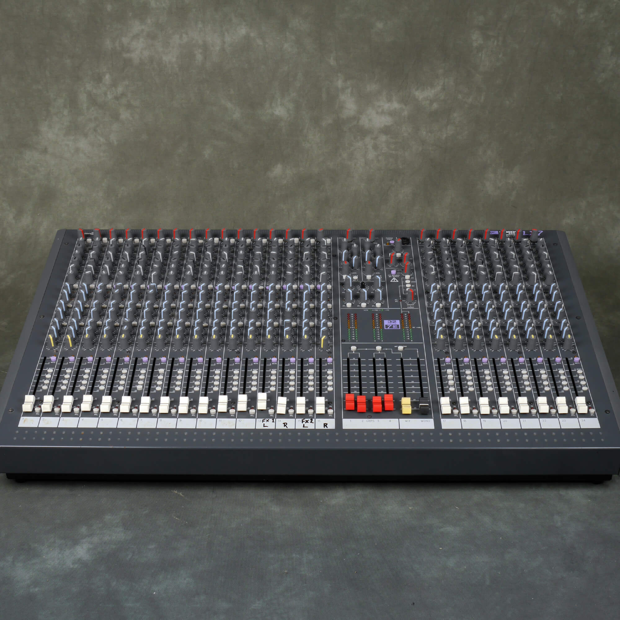Spirit LX7 24-Channel Mixer **COLLECTION ONLY** - 2nd Hand