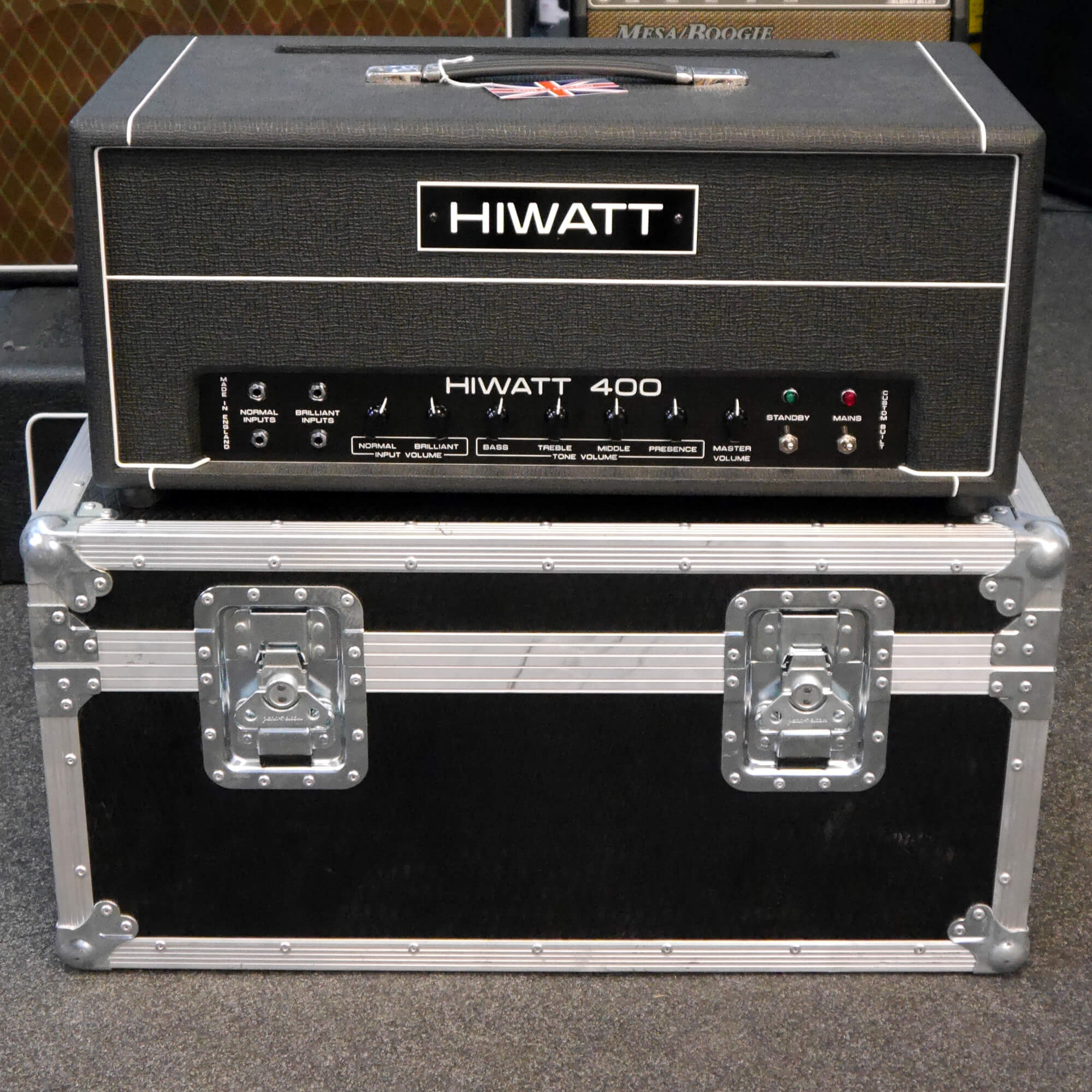 Hiwatt Custom 400 DR405 w/Flight Case - 2nd Hand **COLLECTION ONLY**
