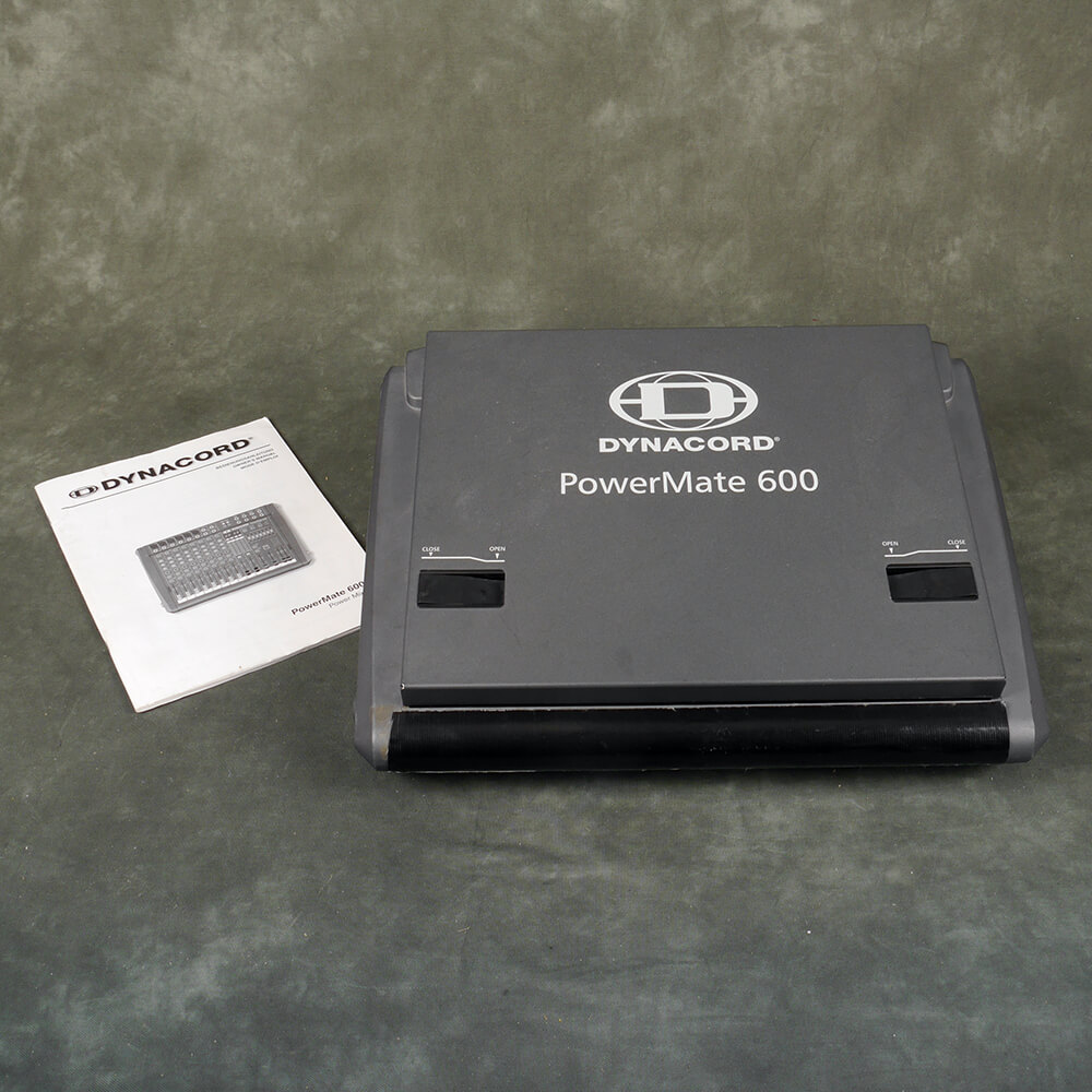 Dynacord Powermate 600 Mk2 Powered Mixer - 2nd Hand **COLLECTION ONLY**