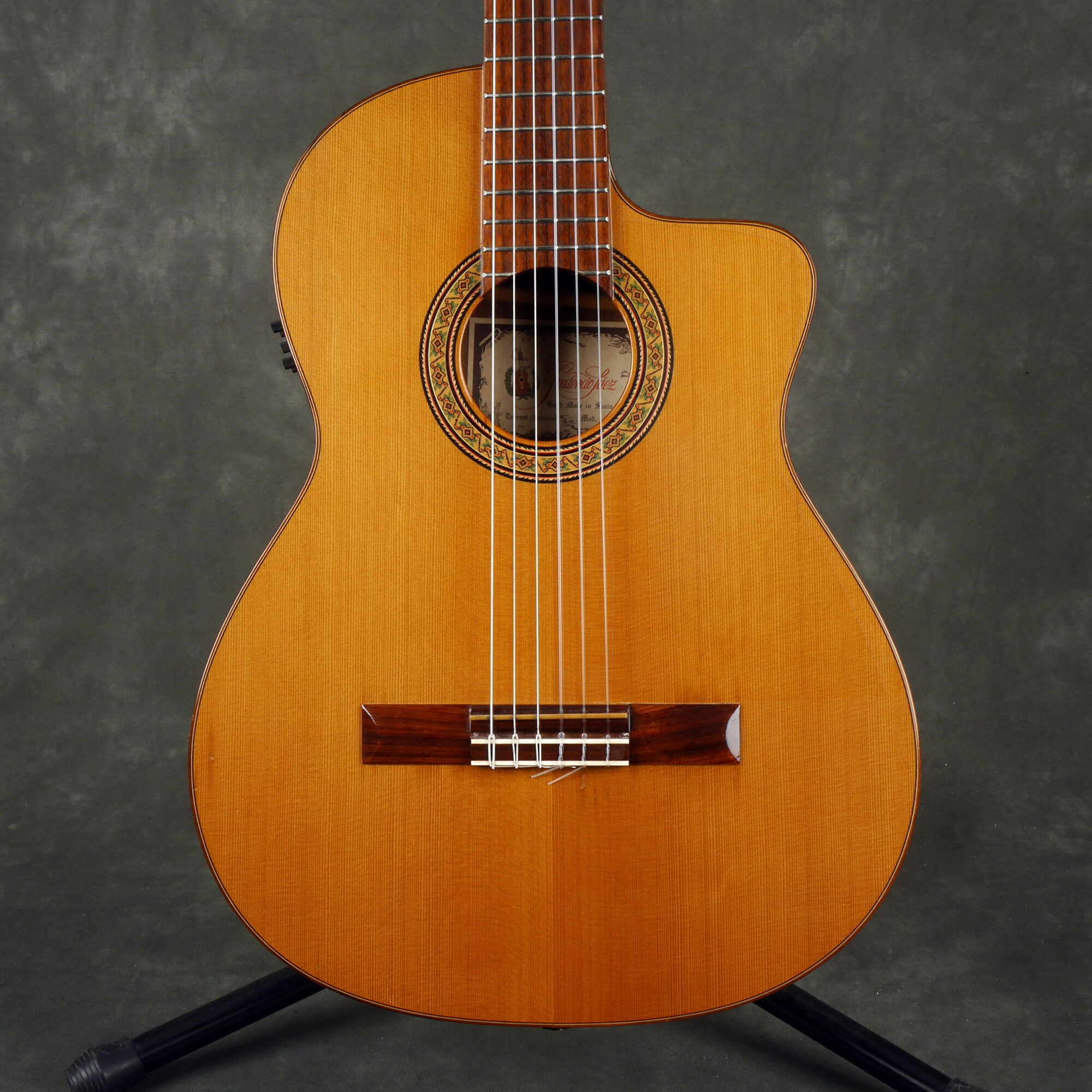 Prudencio Saez Model 56 Electro-Classical Guitar - Natural - 2nd Hand
