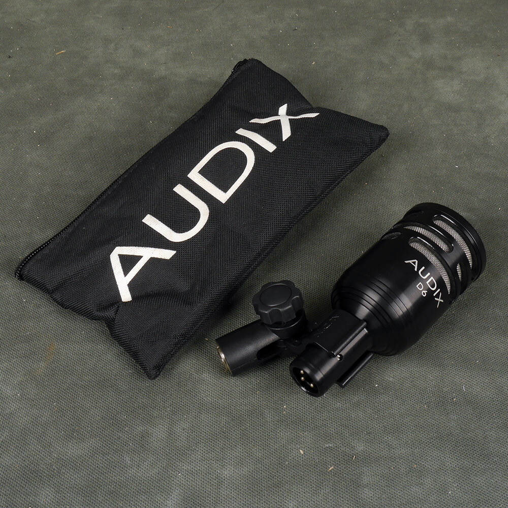 Audix D6 Kick Drum Microphone w/Bag - 2nd Hand