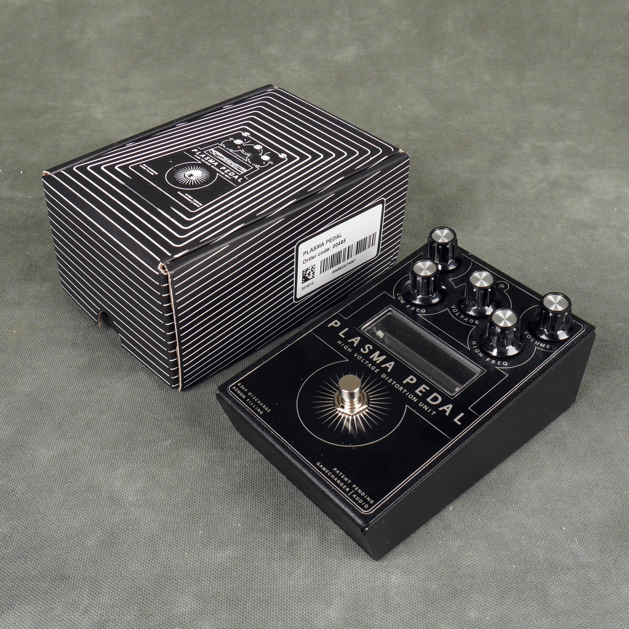 Gamechanger Audio Plasma Pedal High Voltage Distortion Unit w/Box - 2nd Hand