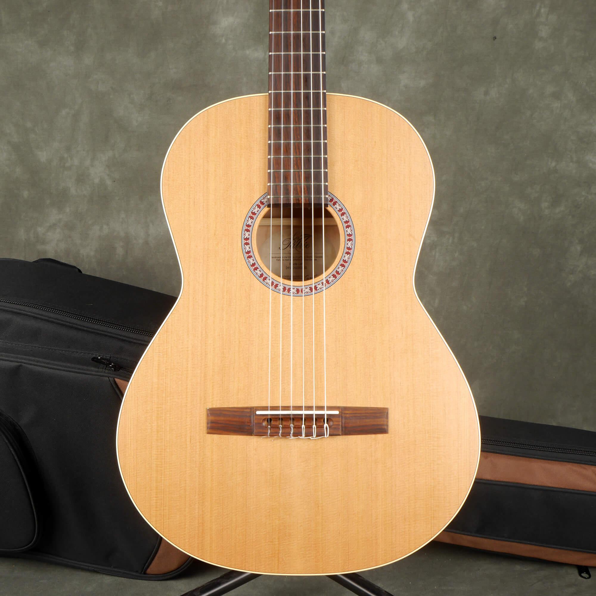 La Patrie Etude Classical Acoustic Guitar, Left Handed w/Gig Bag - 2nd Hand