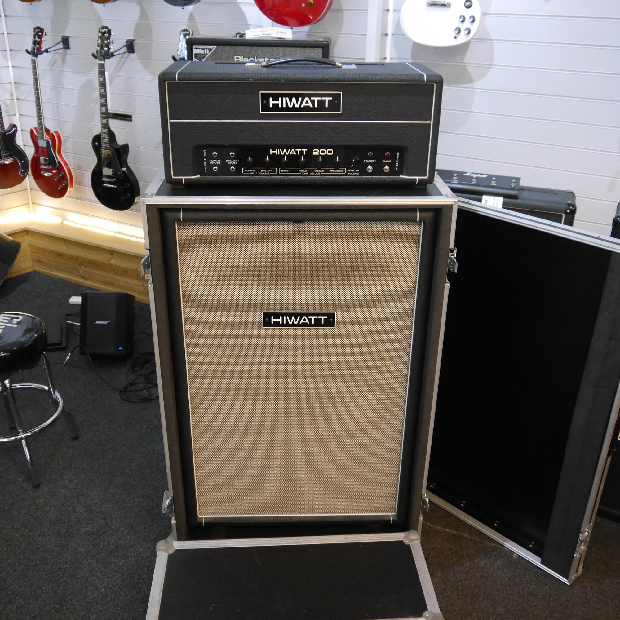 Hiwatt Custom 200 DR201 and SE115410 w/Case - 2nd Hand **COLLECTION ONLY**