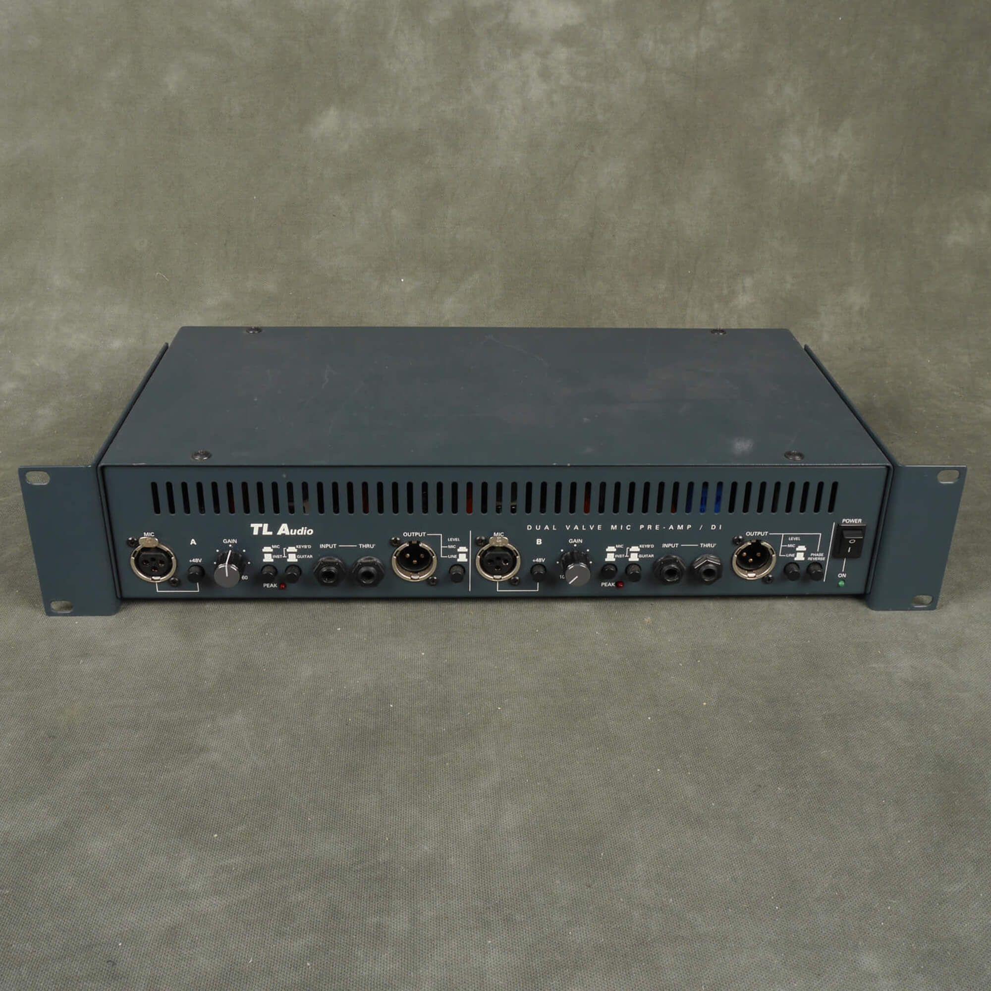 TL Audio Dual Valve Mic Pre Amp/DI - 2nd Hand