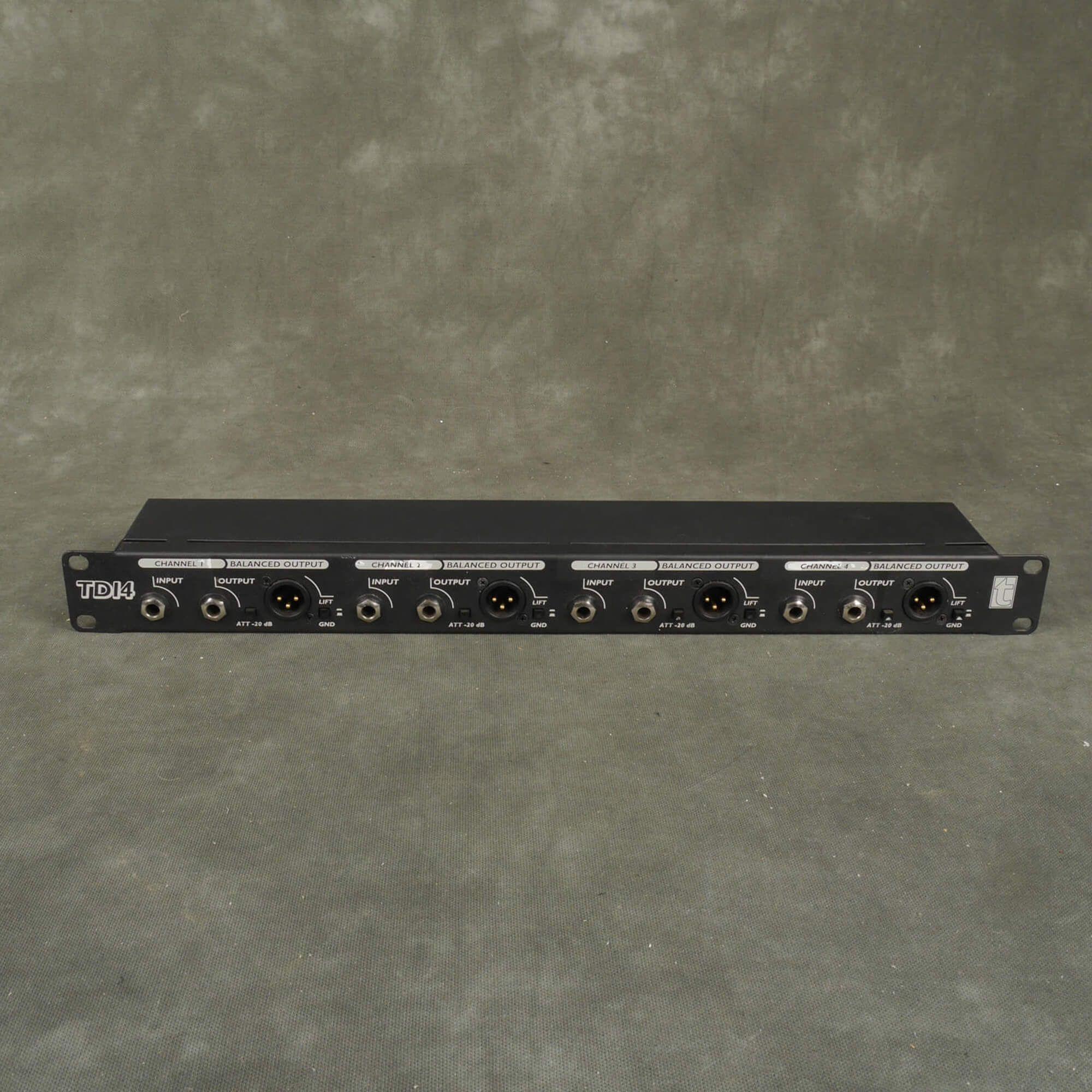 T.Racks TDI4 4 Channel Passive DI Rack - 2nd Hand
