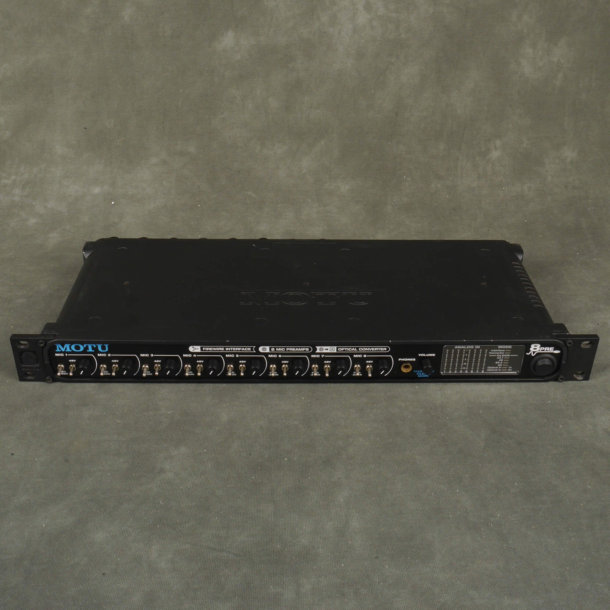 MOTU 8 Pre Audio Interface - 2nd Hand