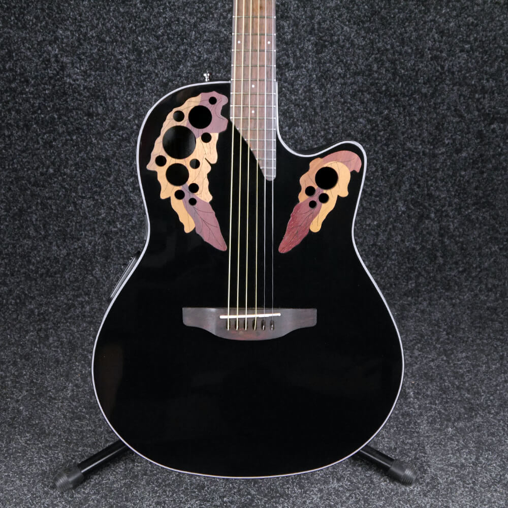 Ovation CE44-5 Celebrity Elite - Black - 2nd Hand