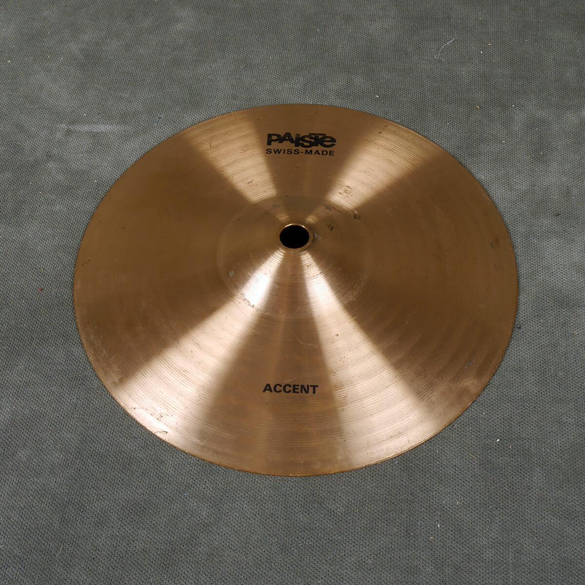 Paiste Accent 8″ Splash Cymbal (C46) - 2nd Hand