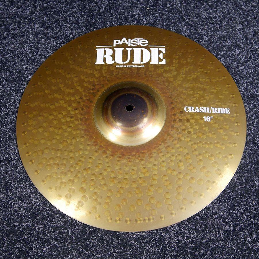 Paiste 16 Inch Rude Crash - 2nd Hand