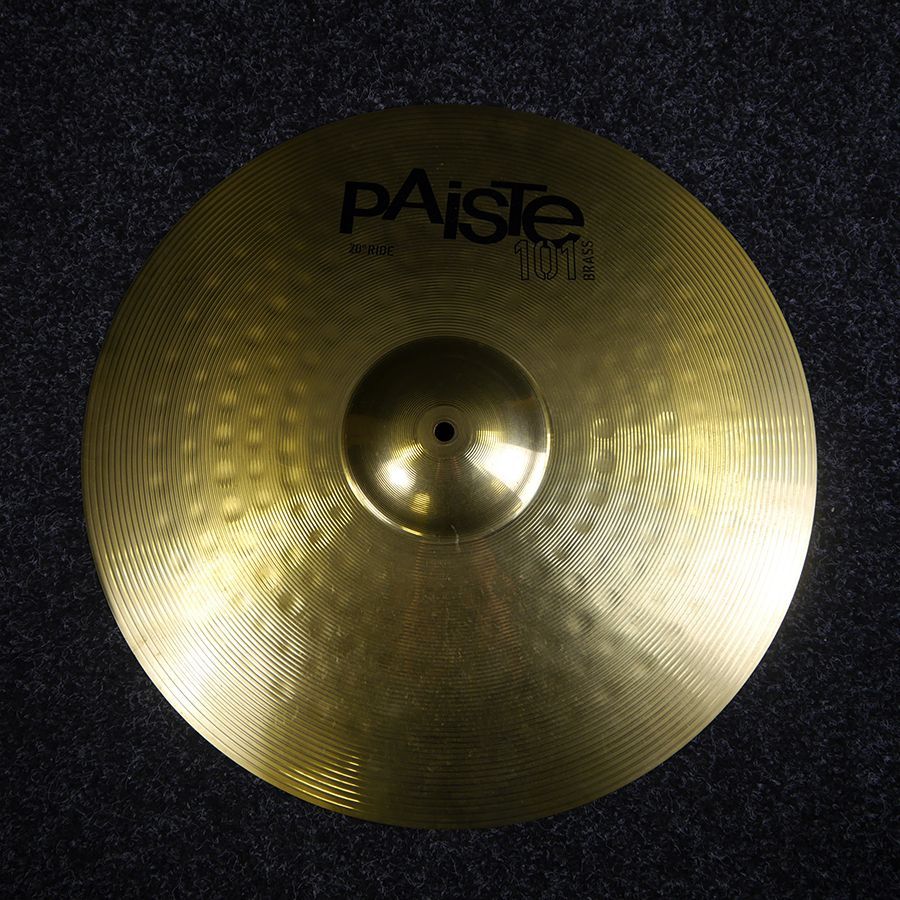 Paiste 101 20 Inch Ride Cymbal - 2nd Hand