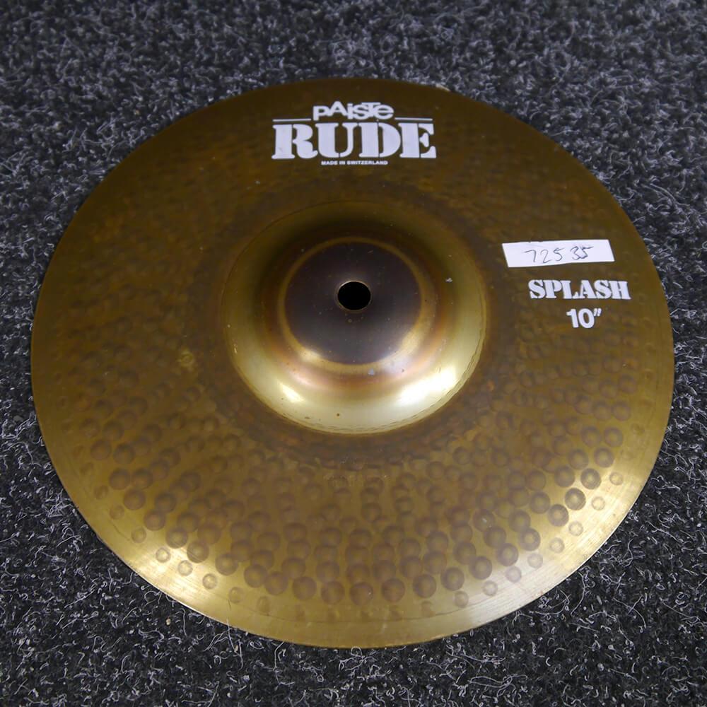 Paiste Rude Splash Cymbal, 10″ - 2nd Hand