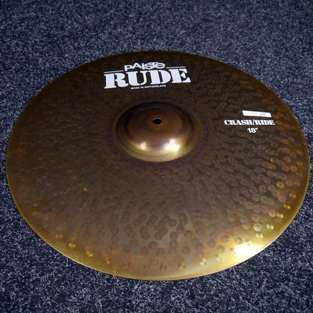 Paiste Rude Crash Cymbal, 18″ - 2nd Hand