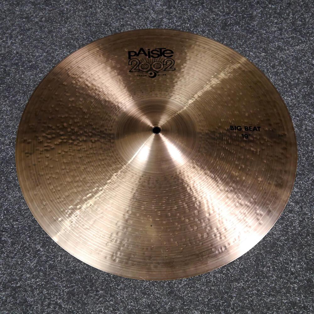 Paiste 2002 Big Beat 19″ Crash Cymbal - 2nd Hand