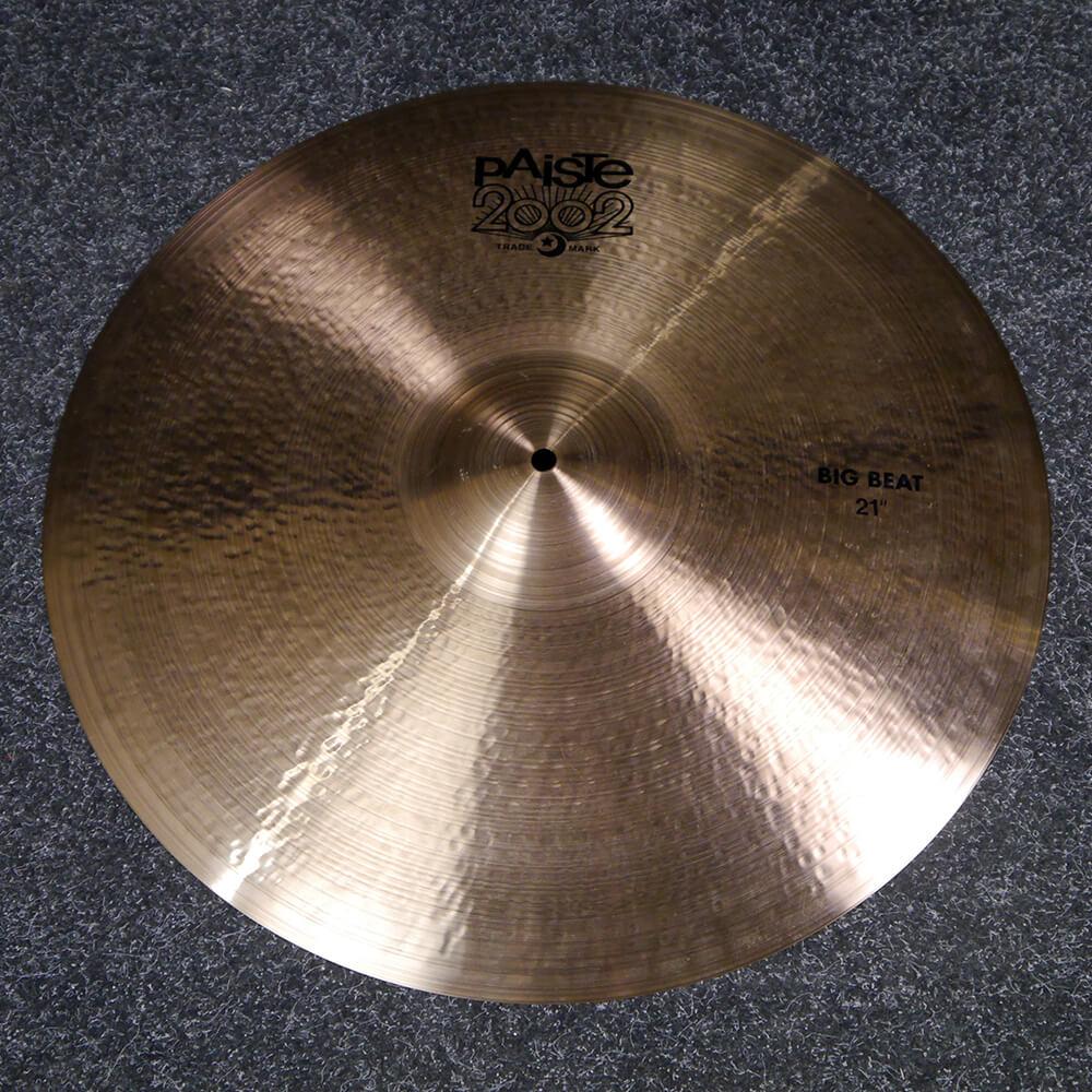 Paiste 2002 Big Beat 21″ Crash Cymbal - 2nd Hand
