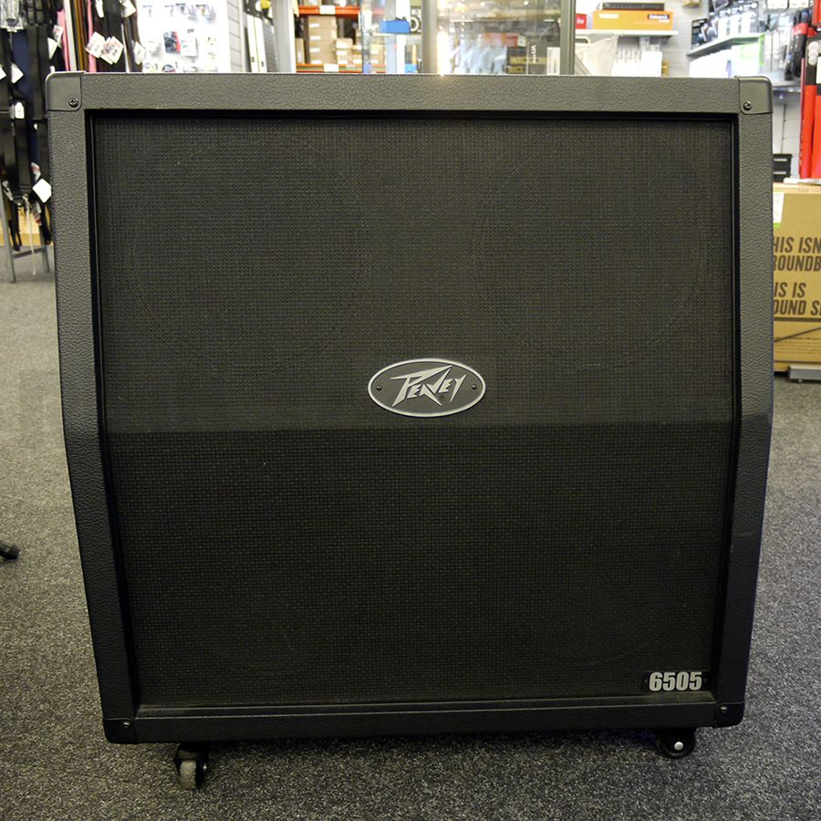 peavey 6505 4x12 slanted speaker cabinet 2nd hand rich tone music. Black Bedroom Furniture Sets. Home Design Ideas