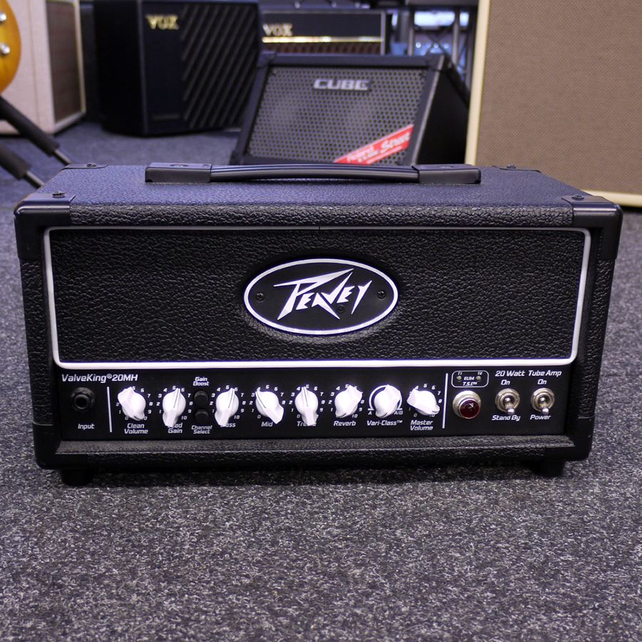 Mini Guitar Heads : peavey valveking 20 mh mini guitar amp head 2nd hand rich tone music ~ Russianpoet.info Haus und Dekorationen