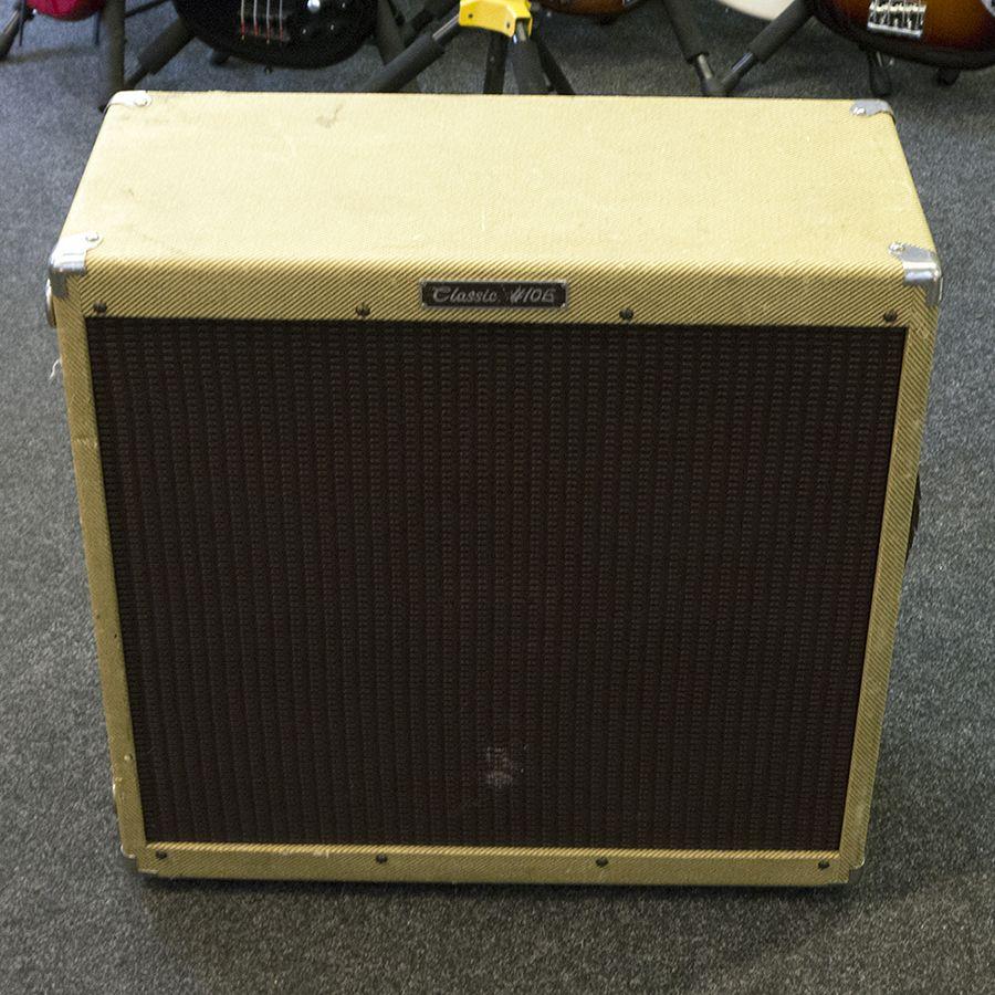 Peavey Classic 410E 4x10 Speaker Cab - Tweed - 2nd Hand