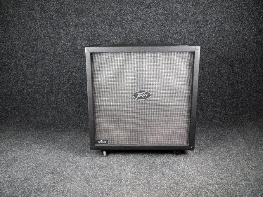 peavey valveking 4x12 cab 2nd hand collection only rich tone music. Black Bedroom Furniture Sets. Home Design Ideas