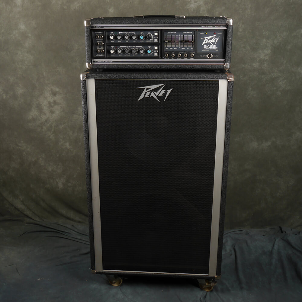 Peavey Mark IV 400BH and Classic 2x15 Cabinet - 2nd Hand **COLLECTION ONLY**