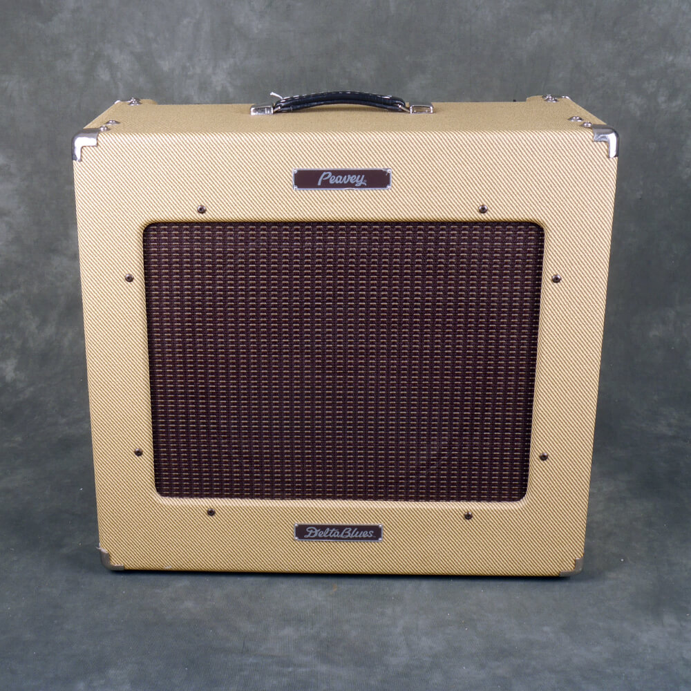 Peavey Delta Blues Guitar Amplifier - Tweed - 2nd Hand **COLLECTION ONLY**