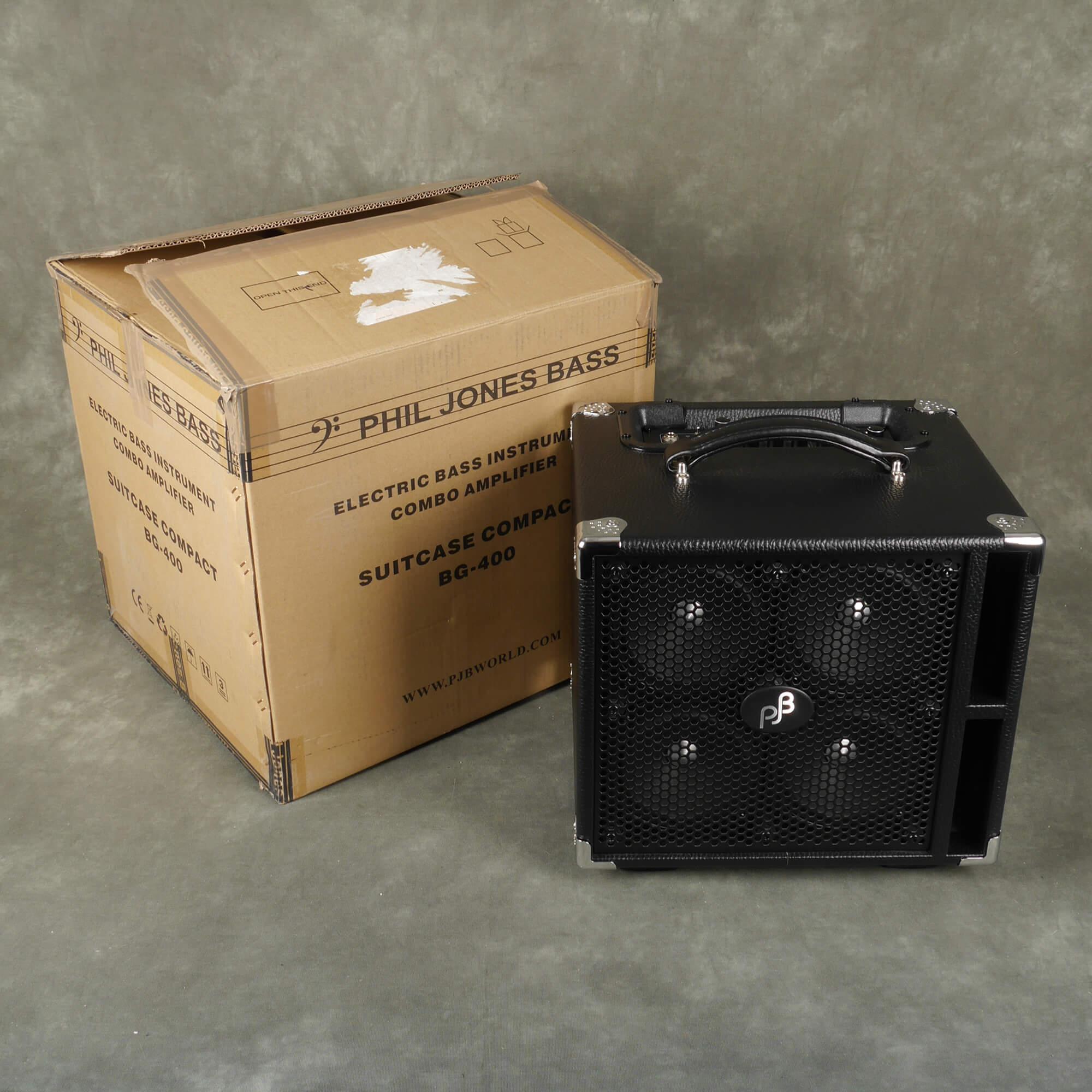 Phil Jones BG-400 Suitcase Compact Amp w/Box - 2nd Hand
