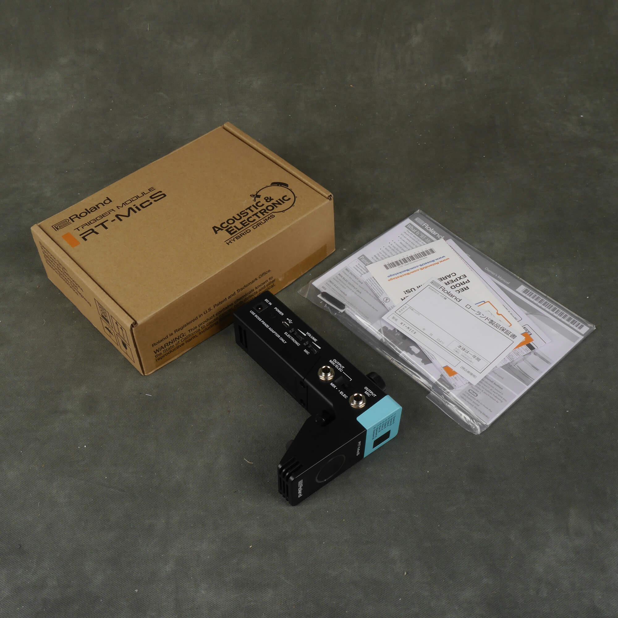 Roland RT-MicS Hybrid Drum Module w/Box - 2nd Hand