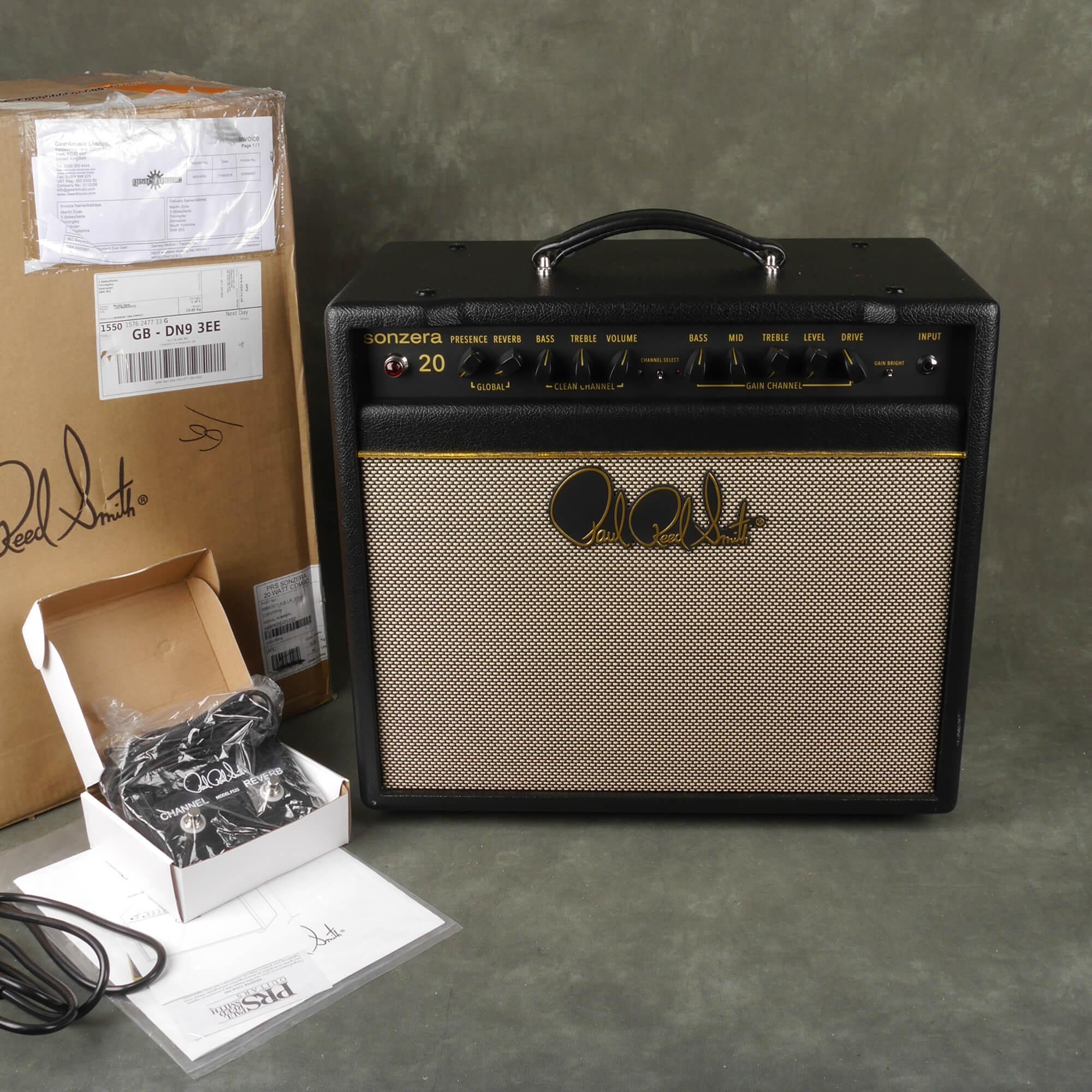 PRS Sonzera 20w Combo Amplifier w/Box - 2nd Hand