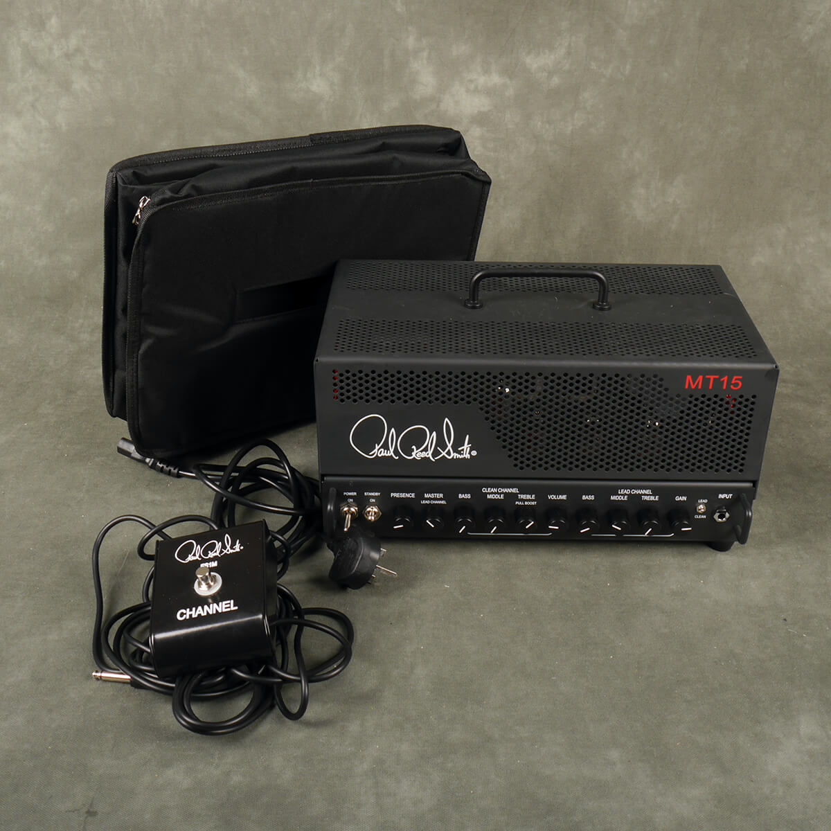 PRS MT15 Amp Head, Footswitch & Cover w/Box - 2nd Hand
