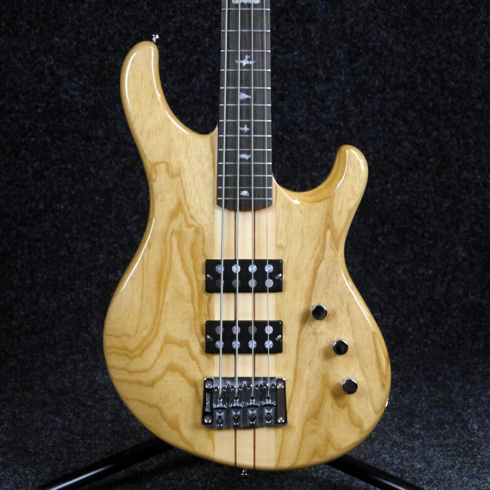 PRS SE Kingfisher Electric Bass Guitar - Natural - 2nd Hand