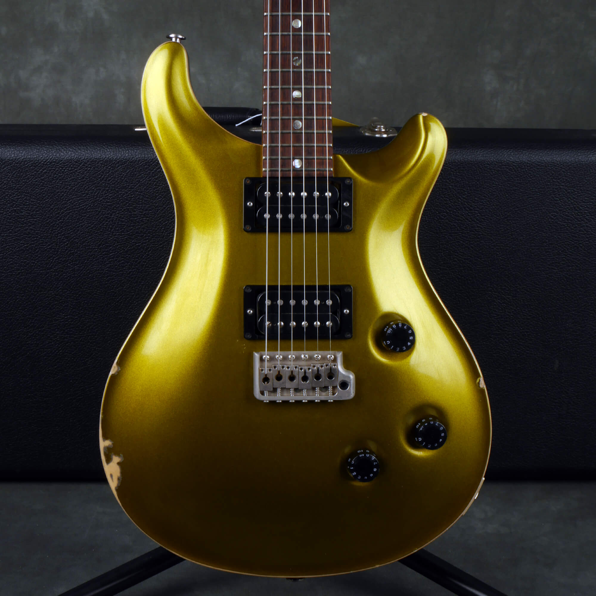 PRS CE 24 Electric Guitar - Green / Gold w/Case - 2nd Hand
