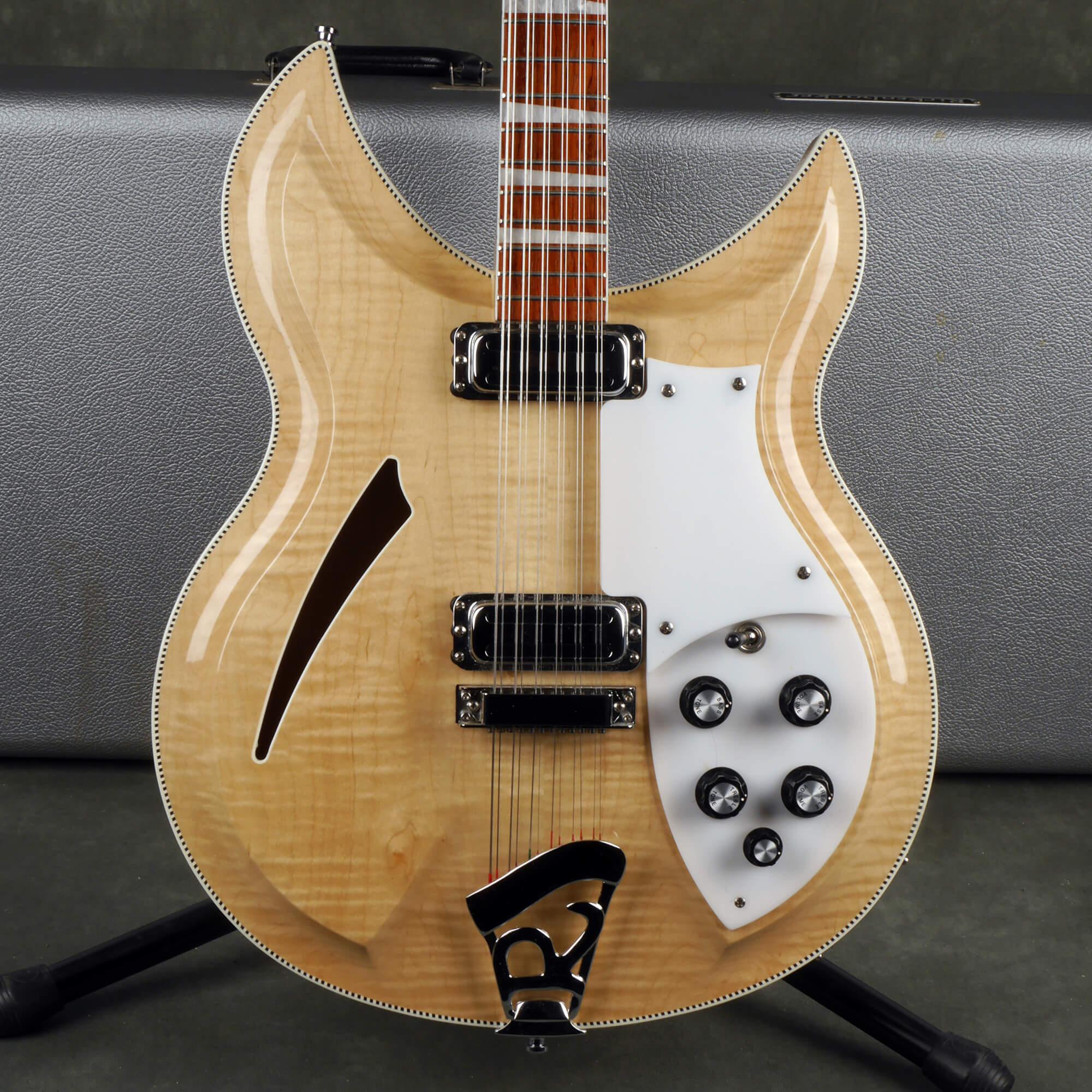 Rickenbacker 381/12v69 12 String - Mapleglo w/Hard Case - 2nd Hand