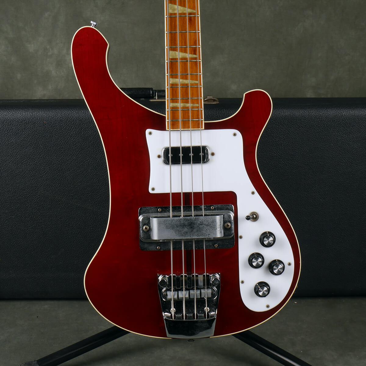 Rickenbacker 1978 4001 Bass - Burgundy Glo w/Hard Case - 2nd Hand