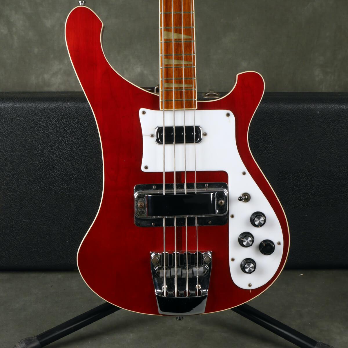 Rickenbacker 1979 4001 Bass - Burgundy Glo w/Hard Case - 2nd Hand