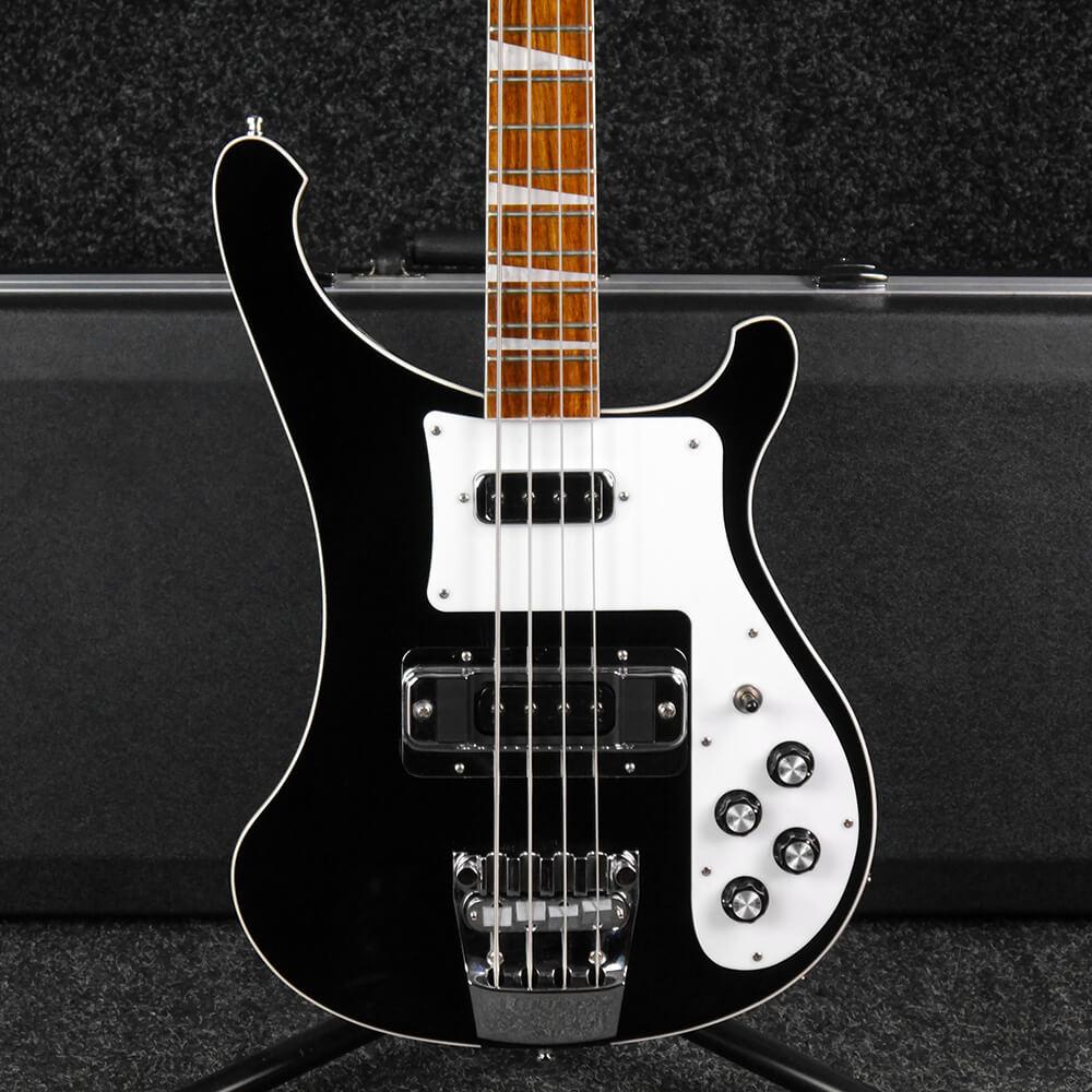 rickenbacker 4003 bass guitar jetglo w hard case serial 17 26735 2nd hand rich tone music. Black Bedroom Furniture Sets. Home Design Ideas