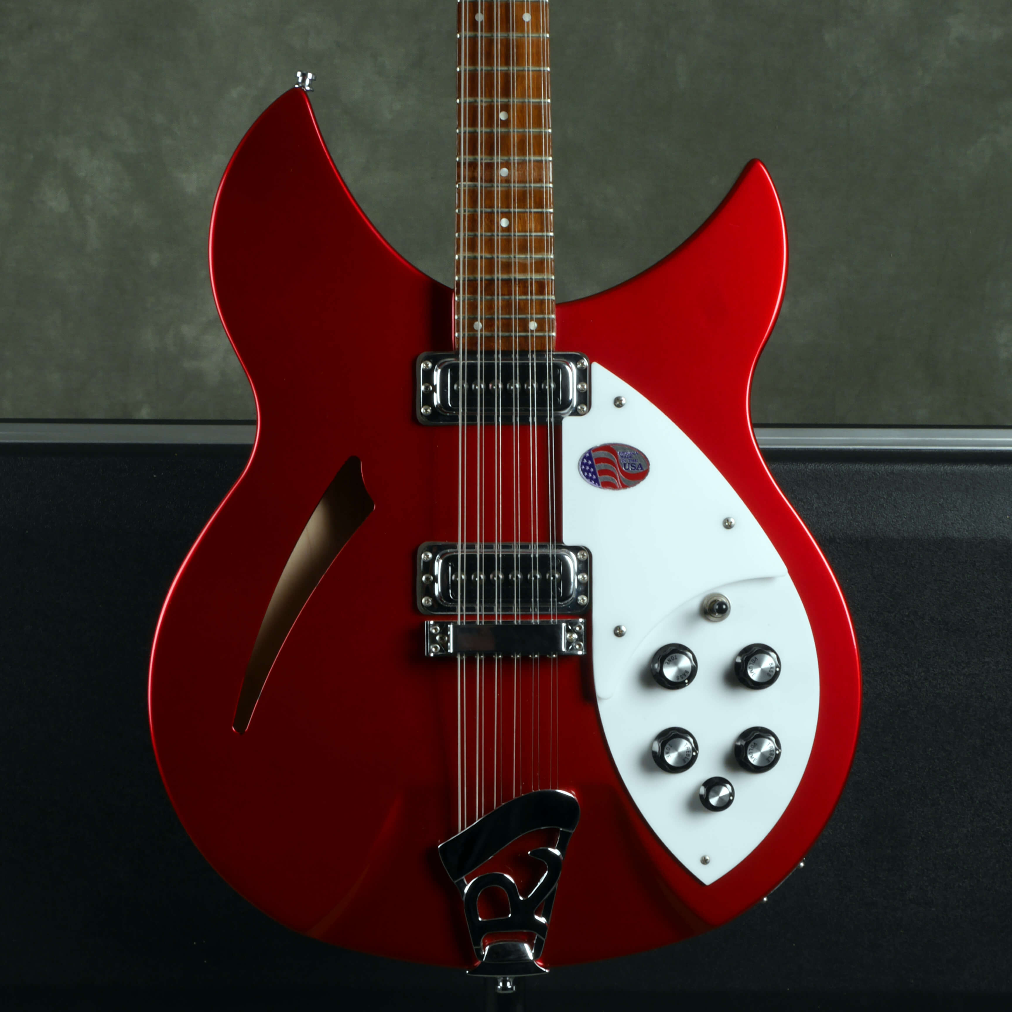 Rickenbacker 330/12 12-String Electric Guitar - Ruby Red w/Hard Case - 2nd Hand