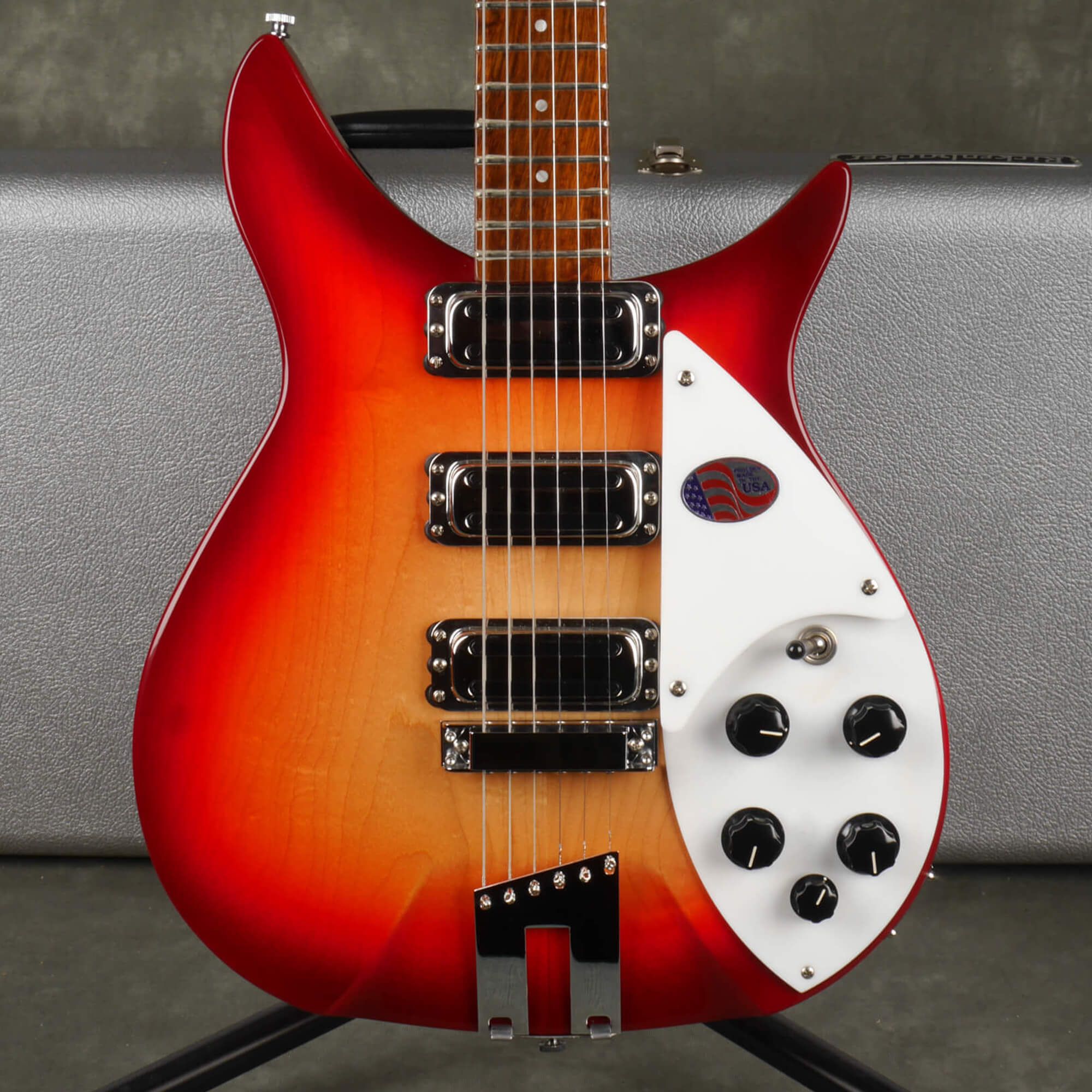 Rickenbacker 350V63 Liverpool - Fireglo With Hard Case - 2nd Hand