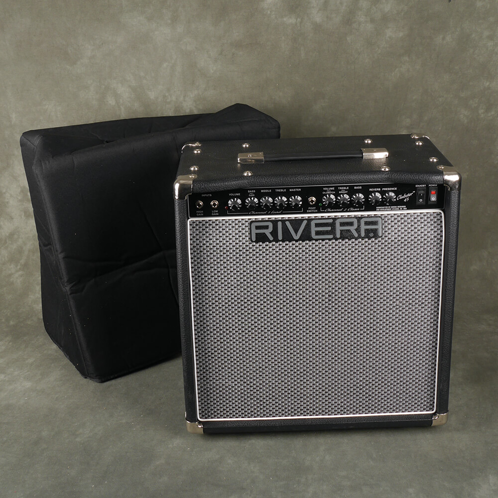 Rivera 45w Clubster Combo Amplifier w/Cover - 2nd Hand **COLLECTION ONLY**