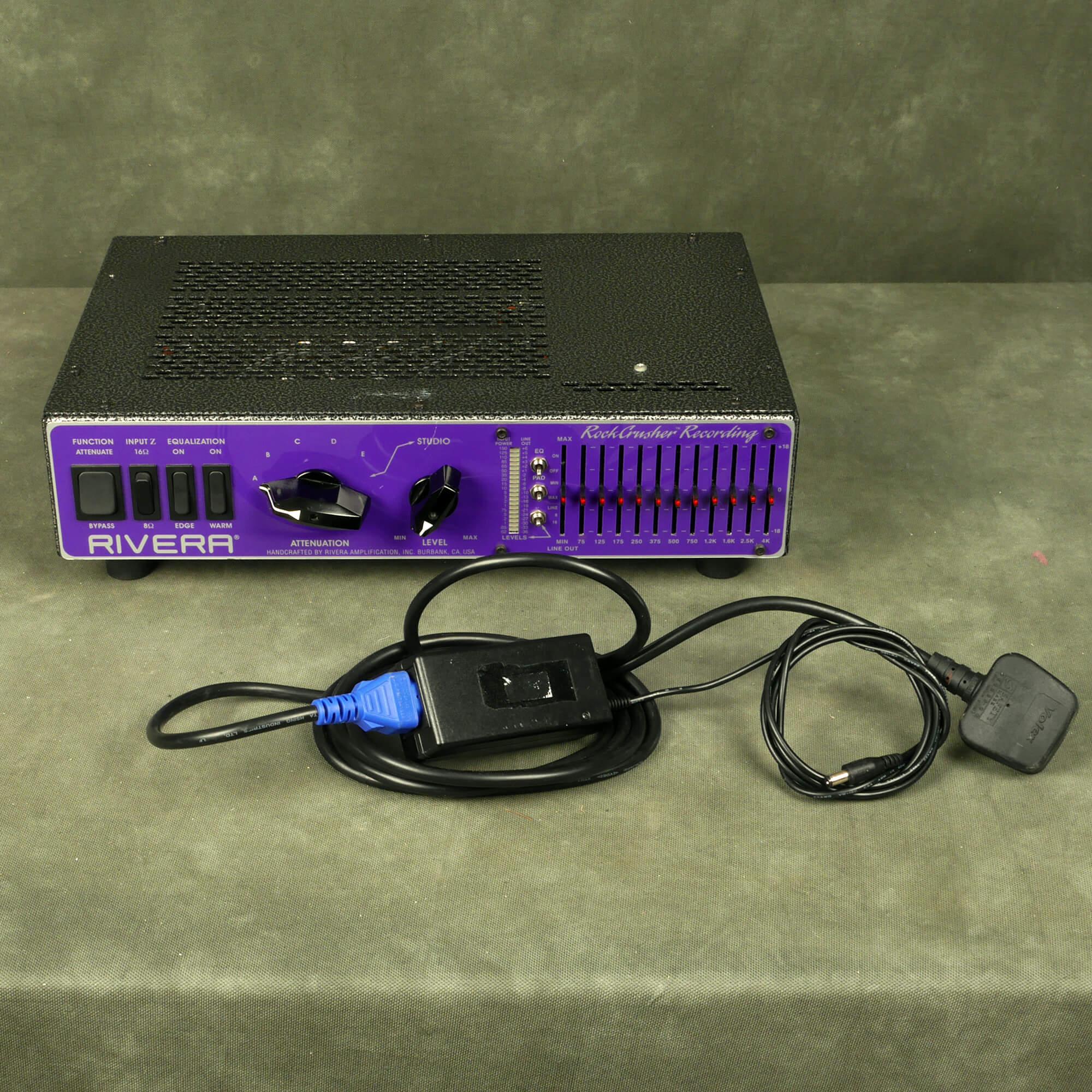Rivera Rockcrusher Recording Attenuator - 2nd Hand