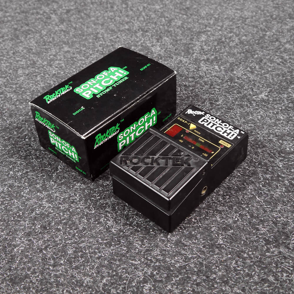 Rocktek Son-Of-A-Pitch Tuner Pedal w/Box - 2nd Hand
