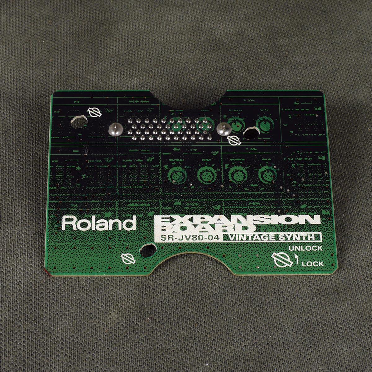 Roland SR-JV80 Expansion Board - 04 Vintage Synth - 2nd Hand