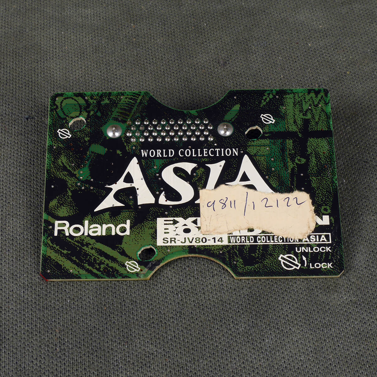 Roland SR-JV80 Expansion Board - 14 World Collection Asia - 2nd Hand