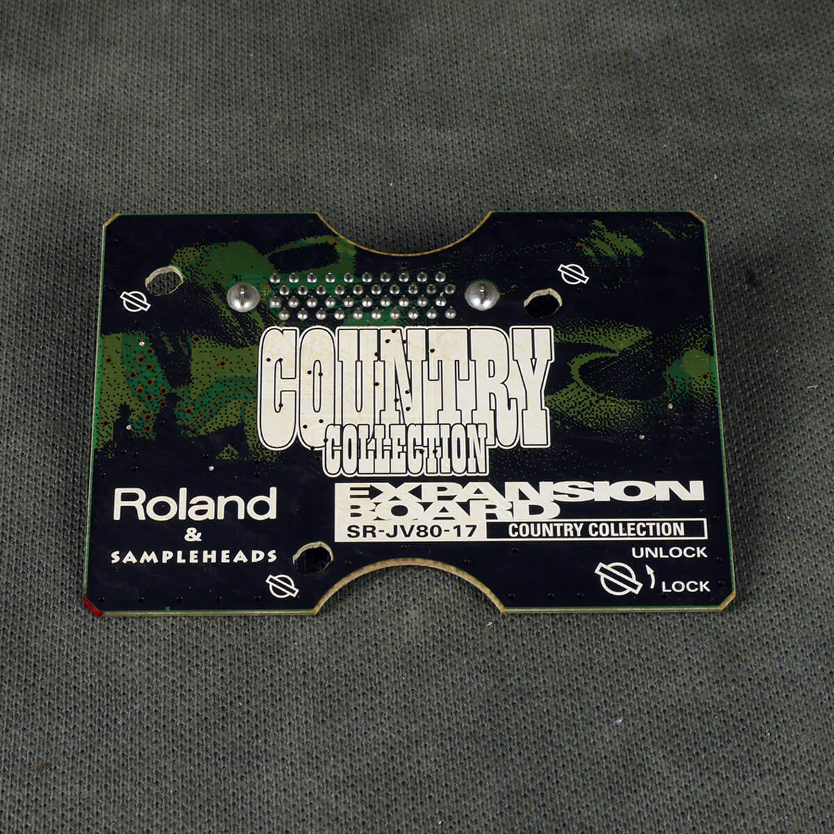 Roland SR-JV80 Expansion Board - 17 Country Collection - 2nd Hand