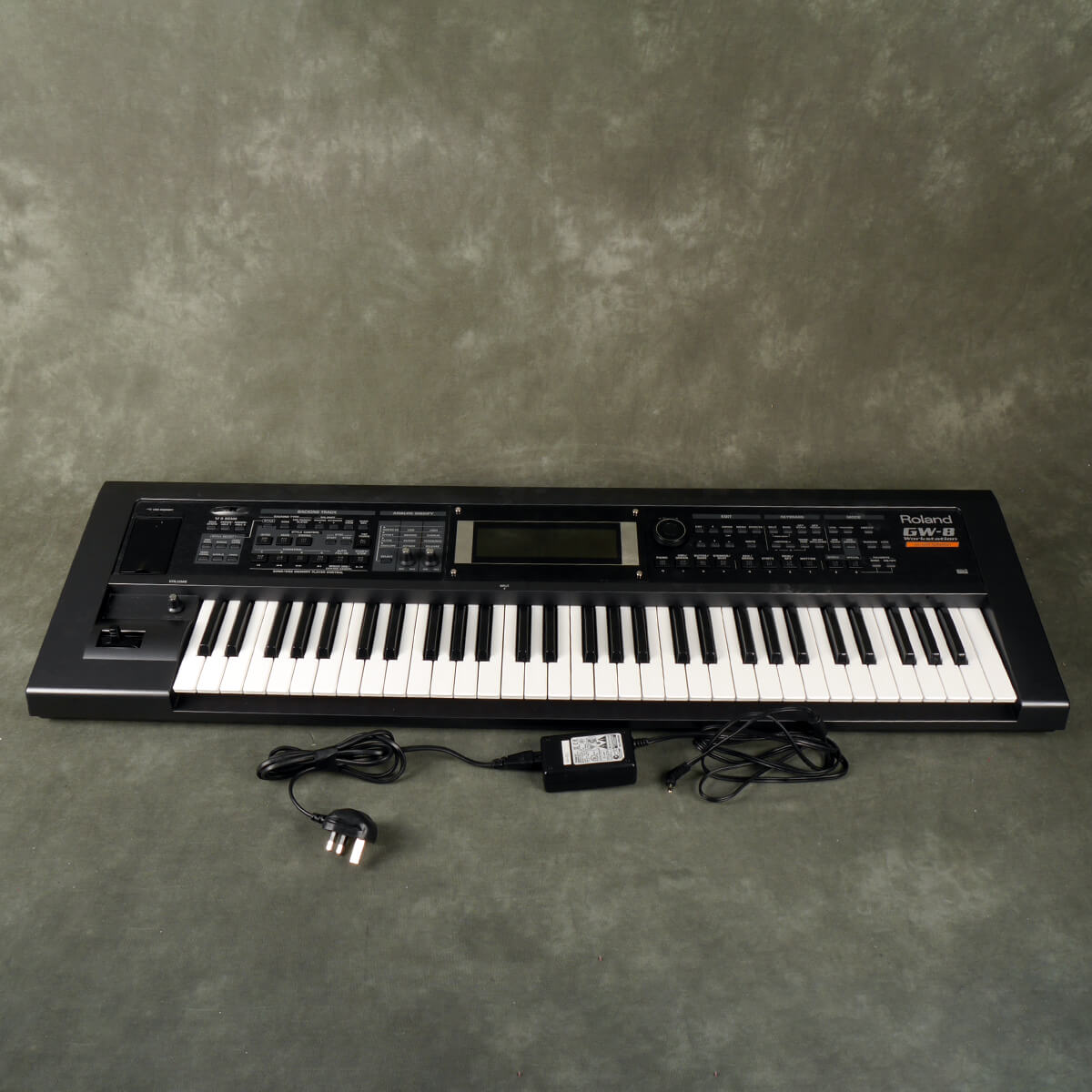 Roland GW-8 Workstation With Latin Collection & Power Supply - 2nd Hand