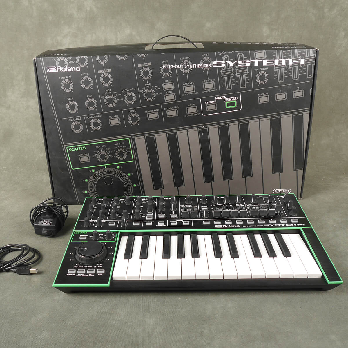 Roland System 1 Plug Out Syntheszier w/Box & PSU - 2nd Hand