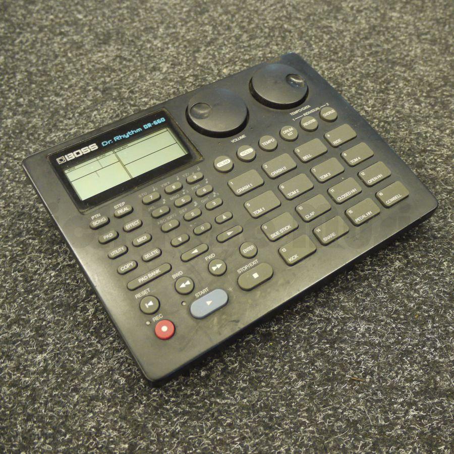 boss dr 660 drum machine 2nd hand rich tone music. Black Bedroom Furniture Sets. Home Design Ideas